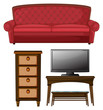 A living room set