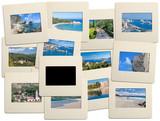 diapositives de Corse + fond à compléter