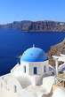 beautiful white-blue Santorini