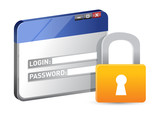 secure website login using SSL protocol