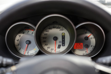 Speedometer, tachometer and fuel #2