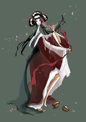Dance of the Young Geisha