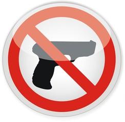 panneau interdiction armes