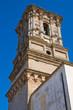 Belltower of Basilica Mother Church. Copertino. Puglia. Italy.