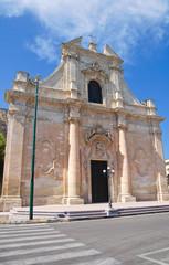 Church of St. Maria della Grazia. Galatina. Puglia. Italy.
