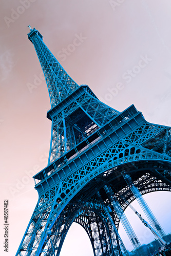 Eiffel tower, Paris. - 48587482