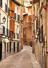 Ładne domy w starym mieście miasta