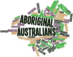 Word cloud for Aboriginal Australians