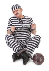 struggle with handcuffs
