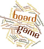 Word cloud for Board game