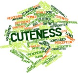 Word cloud for Cuteness
