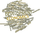 Word cloud for Development economics