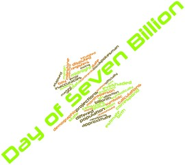 Word cloud for Day of Seven Billion