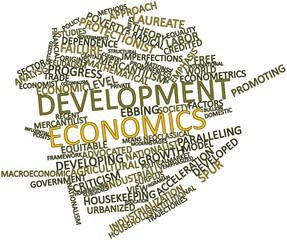 Word cloud for Development economics