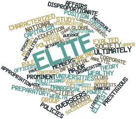 Word cloud for Elite