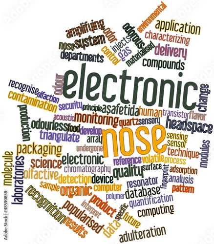 Word cloud for Electronic nose