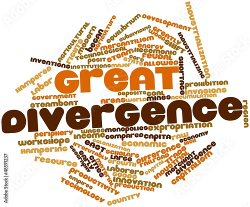 Word cloud for Great Divergence