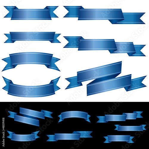 blue tape banners