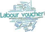 Word cloud for Labour voucher