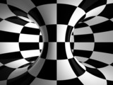 .Black-and-white abstraction - 48592227