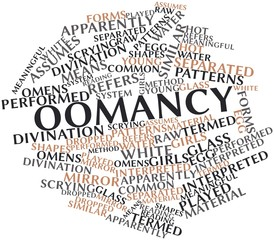 Word cloud for Oomancy
