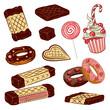 Waffeln, Schokolade, Süßigkeiten, Kirmes