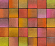 3d abstract graffiti spray backdrop in multiple color