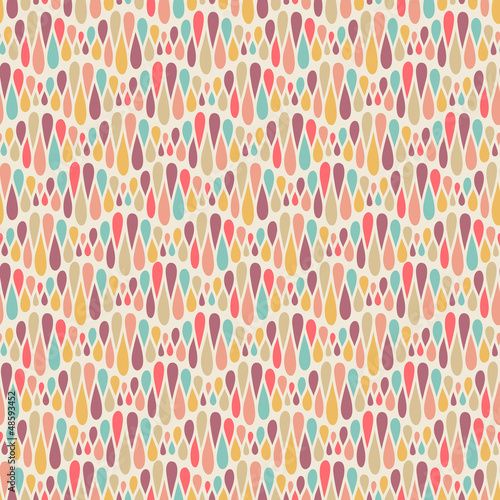 Abstract color seamless pattern
