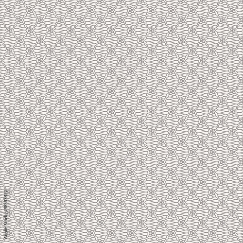 Abstract seamless pattern with curly lines - 48593472