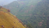 mountain landscape with road in Munnar Kerala India