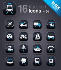 Black Squares - Transports - Vehicules