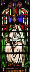 Manasseh, stained glass Saint Germain-l'Auxerrois church, Paris