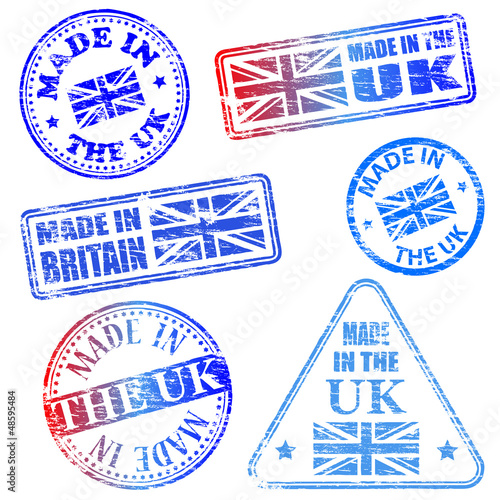 Made In The UK Stamps