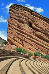 Red Rocks Amphitheater in Colorado