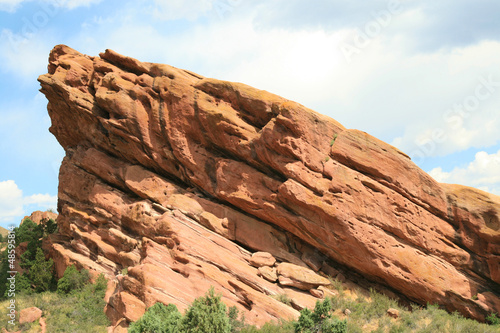 Beautiful red rock formation in Colorado, USA