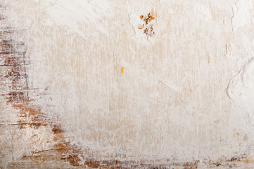 Grungy beige and white background