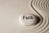 Faith stone poster