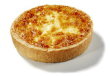 quiche lorraine isolated