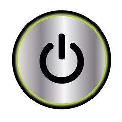 Vector ON - OFF Power button