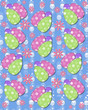 Blue backed Easter Eggs