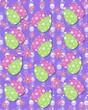 Purple backed Easter Eggs