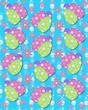 Aqua backed Easter Eggs