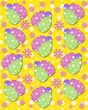 Yellow backed Easter Eggs