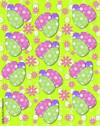 Green backed Easter Eggs