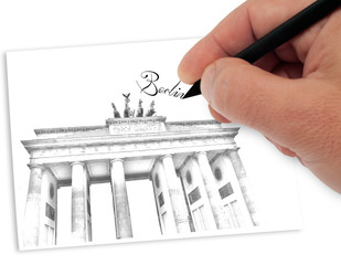drawning berlin
