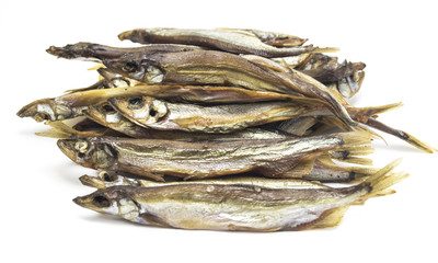 smoked fish capelin