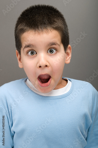 Surprised child