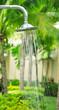 Leinwanddruck Bild - refreshing shower