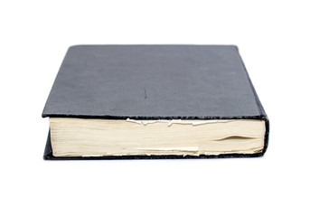 Generic hard bound black book with blank cover