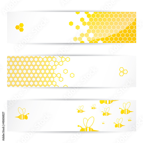 Honey and bees headers